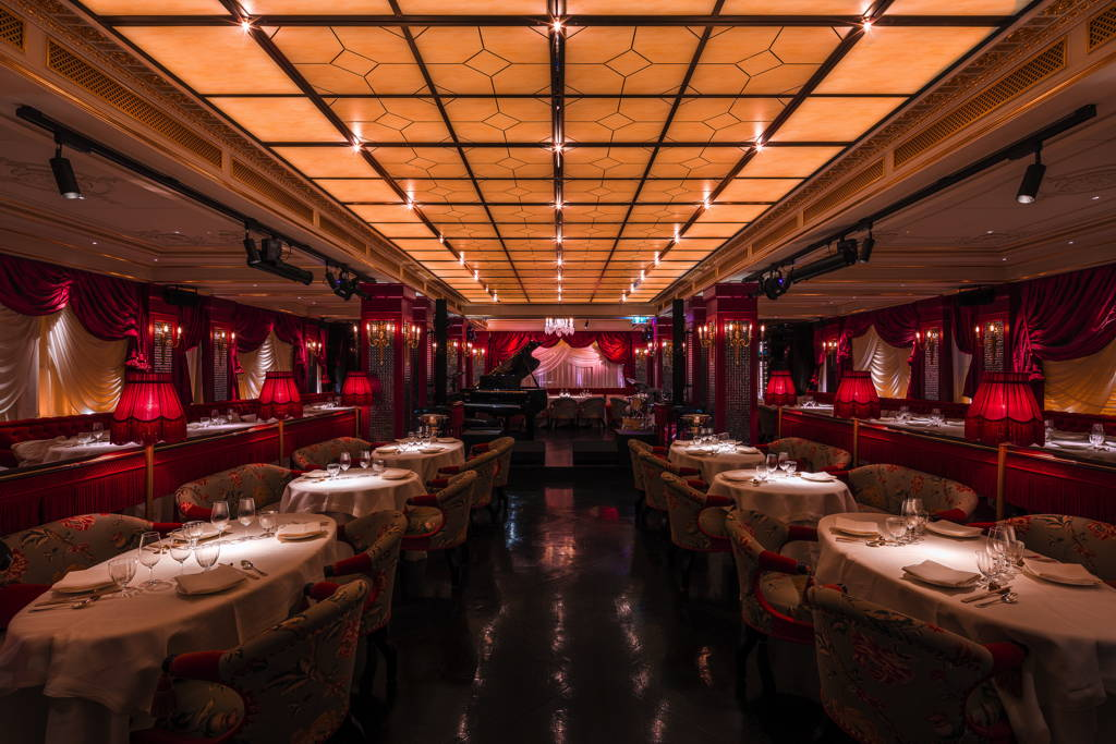Park Chinois designed by Jacques Garcia and Alan Yau