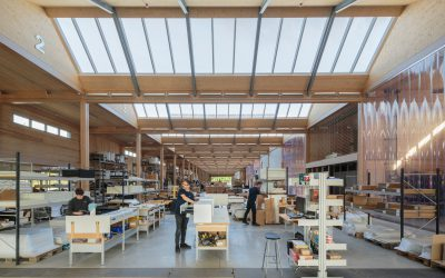 Vitsœ opens new HQ and production building